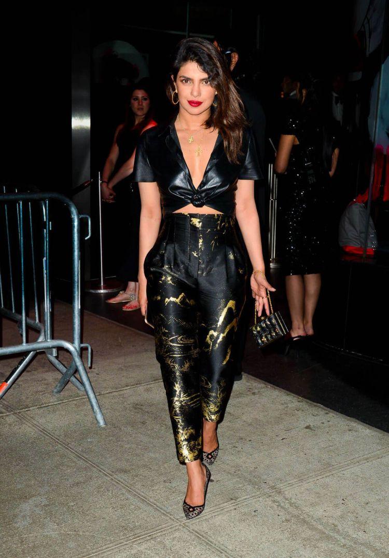 Priyanka Chopra Stills at Met Gala After-party in New York 2018