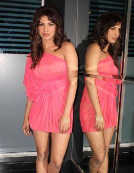 Priyanka Chopra Stills On Indian Idol Sets