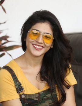 Priyanka Jawalkar stills from Taxiwaala Movie Press Meet