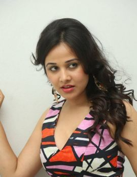 Nisha Kothari at Criminals Movie Teaser Launch