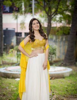 Raashi Khanna at Adanga Maru Movie Pre-Release Function