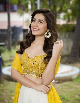 Raashi Khanna at Adanga Maru Movie Pre-Release Function