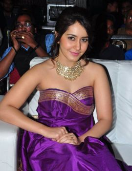 Raashi Khanna at Bengal Tiger Triple Platinum Disc Function