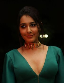 Raashi Khanna at Hyper Audio Launch Stills