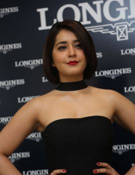Raashi Khanna Unveiled Latest Longines Symphonette Collection