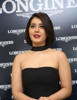 Raashi Khanna Unveiled Latest Longines Symphonette Collection
