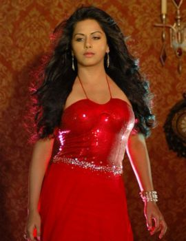 Rachana Maurya in Hot Red Dress