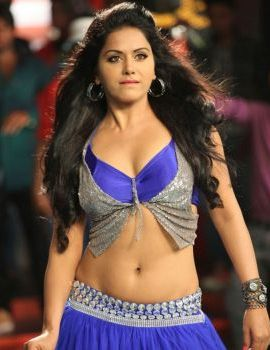 Rachana Mourya Hot Navel Show from Okkadine Telugu Movie