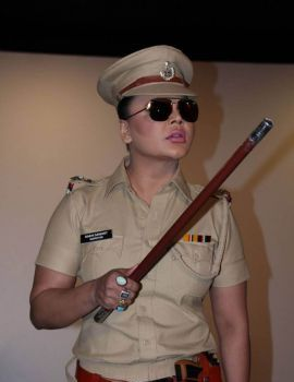 Rakhi Sawant Photos at Rakhi in Khaki Web Series Launch