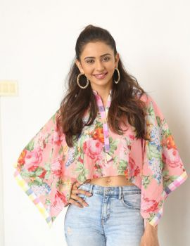 Actress Rakul Preet Singh Photos at NGK Movie Interview