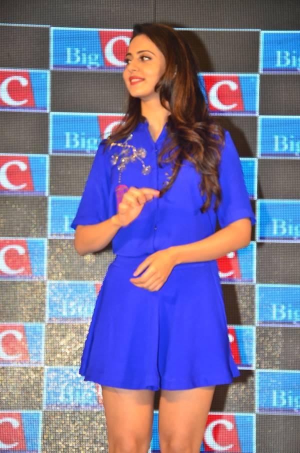 Rakul Preet Singh as Big C Brand Ambassador