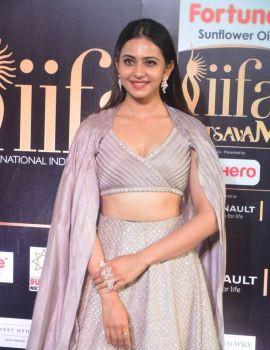 Rakul Preet Singh at IIFA Utsavam Awards 2017 Day One