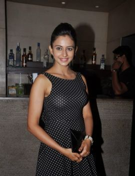 Rakul Preet Singh at Temper Movie Success Party