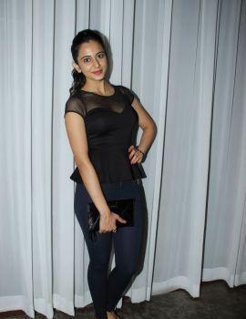 Rakul Preet Singh Latest Balck Dress Stills