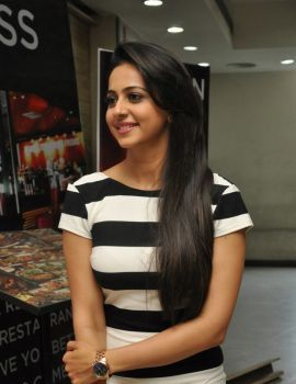 Rakul Preet Singh Photos at Bruce Lee The Fighter Interview