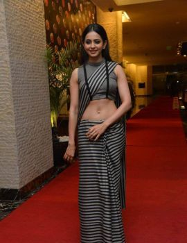 Rakul Preet Singh Stills at Abhinetri Audio Launch