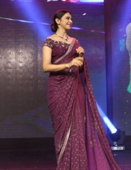 Rakul Preet Singh Stills At Jaya Janaki Nayaka Audio Launch