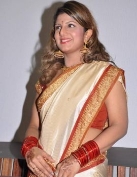 Rambha Latest Stills in Saree