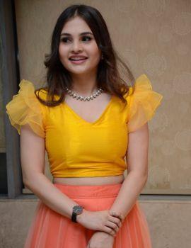Ramya Pasupuleti Stills at First Rank Raju Movie Pre-Release Event