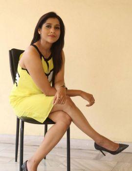 Rashmi Gautam at Guntur Talkies Movie Release Press Meet