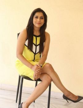 Rashmi Gautam at Guntur Talkies Movie Release Press Meet