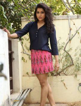 Rashmi Gautam Photos at V Cinema Studio Movie Opening