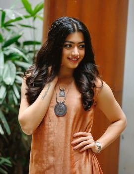 Geetha Govindam Heroine Rashmika Stills