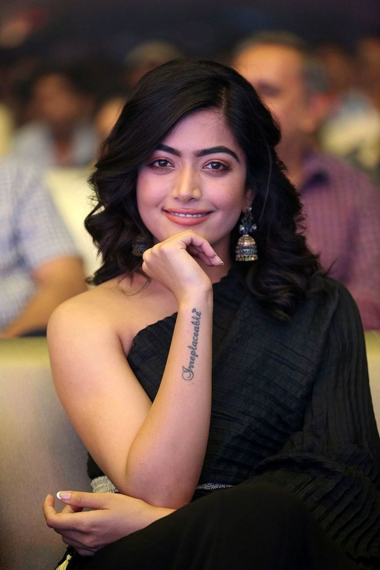 Rashmika Mandanna Photos at Devadas Telugu Movie Audio Launch