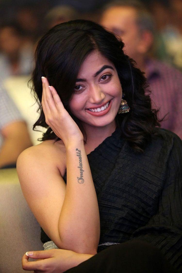 Rashmika Mandanna Photos at Devadas Telugu Movie Audio Launch