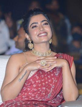 Rashmika Mandanna Photos at Sulthan Movie Pre-Release Event