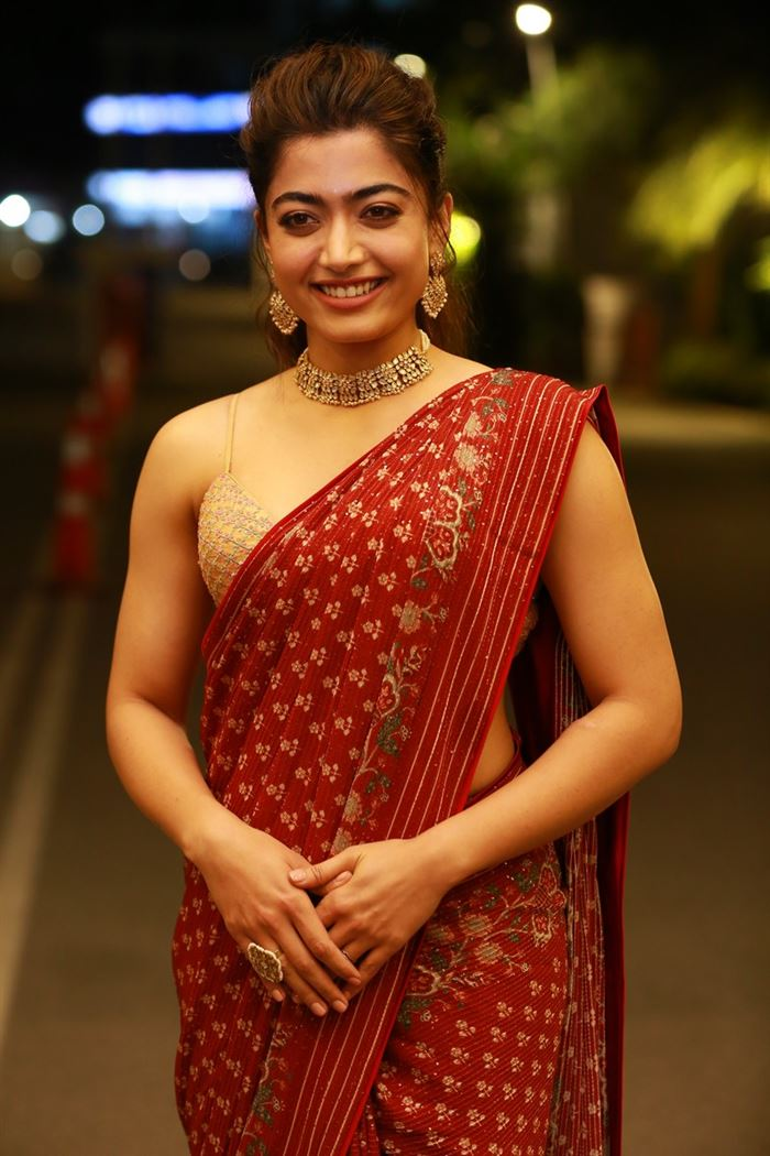Rashmika Mandanna Photos at Sulthan Movie Pre-Release Event