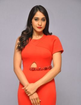 Regina Cassandra Glamorous Red Dress Latest Photoshoot
