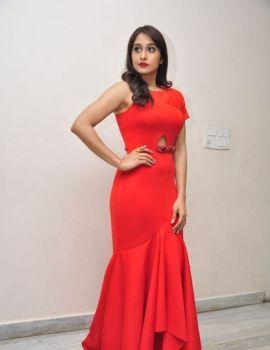 Regina Cassandra Glamorous Red Dress Latest Photoshoot
