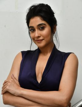Regina Cassandra Photos at Evaru Movie Pre Release Event