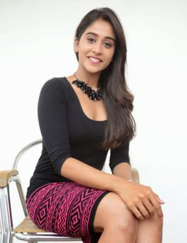 Tamil Actress Regina Cassandra Photos in Black Dress