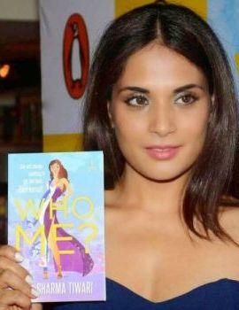 Actress Richa Chadda at Who Me book Launch