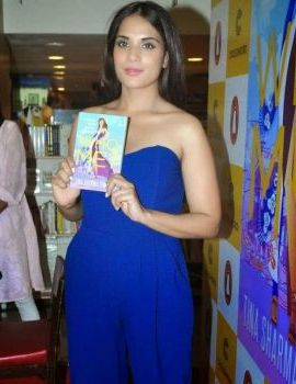 Actress Richa Chadda at Who Me book Launch