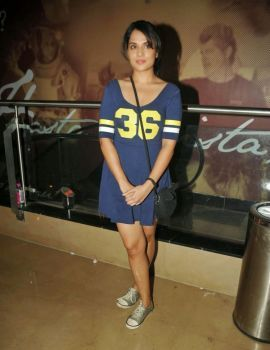 Richa Chadda and Surveen Chawla at Film Khamoshiyaan Premiere