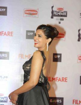 Richa Chadda at 61st Britannia Filmfare Awards Function