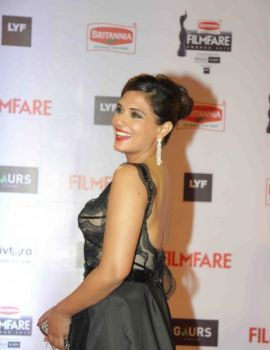 Richa Chadda at 61st Britannia Filmfare Awards Function