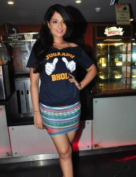 Richa Chadda at Film Fukrey Promotions in PVR Cinema
