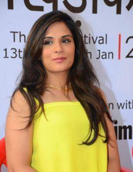 Richa Chadda at Khidkiyan Theatre Festival