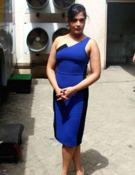 Richa Chadda at Promotion of Television Series Inside Edge in Mumbai