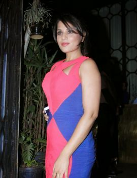 Richa Chadda at Sanjay Leela Bhansali's Padma Shri Honor Party