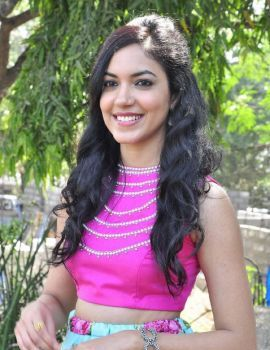 Telugu Actress Ritu Varma Stills at Pelli Choopulu Movie Launch