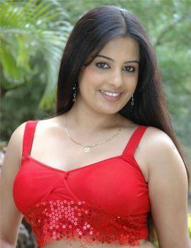 Telugu Actress Roopa Kaur Stills in Red Dress