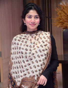Sai Pallavi Photos at Love Story Movie Success Meet