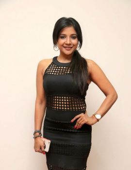 Sakshi Agarwal Stills at Gemini Ganeshanum Suruli Raajanum Audio Launch