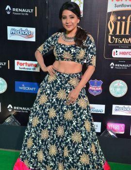 Tamil Actress Sakshi Agarwal Photos at IIFA Awards 2017