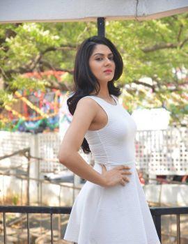 Sakshi Chaudhary at Lord Shiva Creations Production No.1 Movie Opening